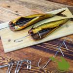 Hooks for smoking fish