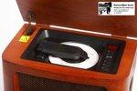 Retro radio met CD speler en MP3 en opname recording