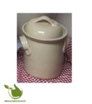Sauerkraut fermenting crock 2liter (gray/classic)