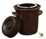 Zuurkoolpot 10liter (bruin/klassiek)