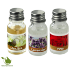 Oil burner with 3x10ml Fragrance Oil Rose, Vanilla, Lavender