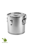 Container for fermentation and distillation - stainless steel no. 18l
