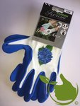 Garden Care glove blue mt.8 (uni)