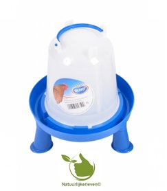 Drinker for poultry handle and feet 3 liter