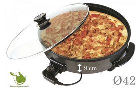 Electric multi pan and pizza pan (great)