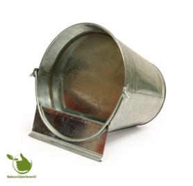 Deck bucket galvanized 6 liters