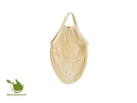 Shopping bag made of organic cotton (color ecru)