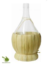 Authentic glass wine bottle 2 liter
