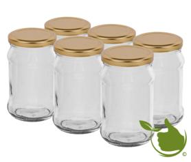 Glass pots 300 ml