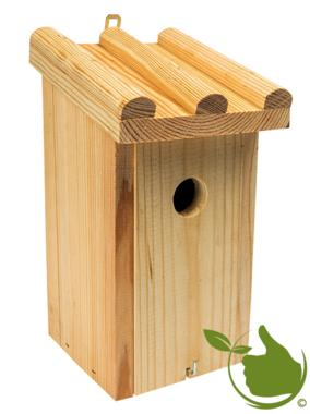Birdhouse for tits 15,7x14,5x28,2CM