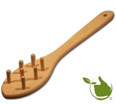 Spaghetti spoon made of beech wood 30cm