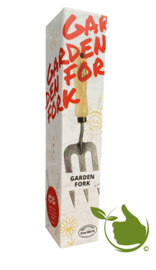 Hand fork ash handle 14cm * deWit * gift box