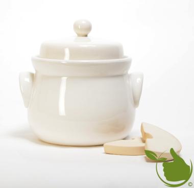 Mini sauerkraut and kimchi crock cream 4 liter