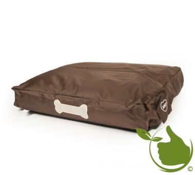 Dog Cushion 80x60x13cm Brown