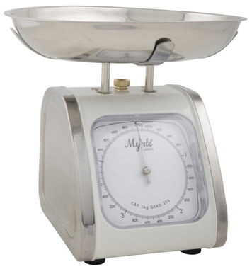 Nostalogical kitchen scale Ib Laursen, Mynte cream 5kg
