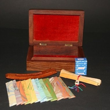 Luxury wooden incense box