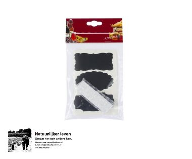 Chalk label 12 pieces