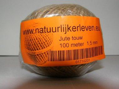 Jute string 100 meter x 1,5 mm