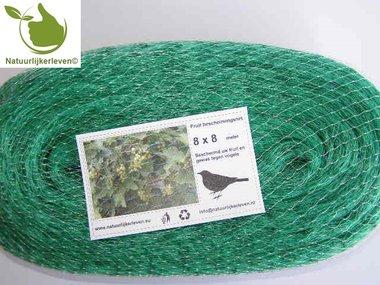 Anti-bird defence net 8x8 m