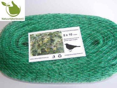 Anti-bird defence net 10x8 m