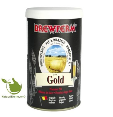 Beerkit Brewferm gold for 12 l