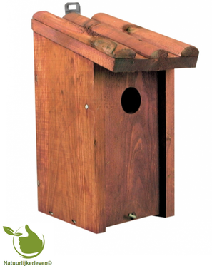 Birdhouse for tits 13x12x26CM
