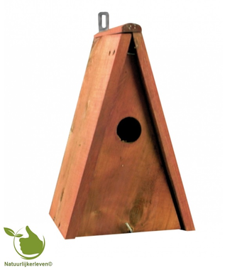Birdhouse for tits point model 20x15x25cm