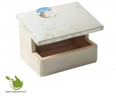 Birdhouse for tits block model 20x15x25cm