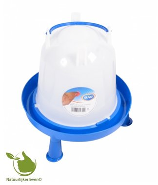 Drinker for poultry handle and feet 7 liter