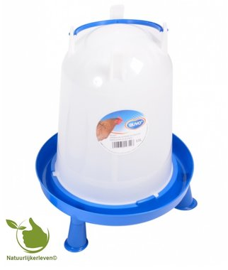 Drinker for poultry handle and feet 10 liter