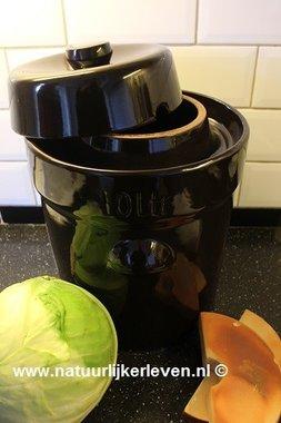 Sauerkraut fermenting crock 25 liter