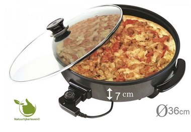 Electric multi pan and pizza pan