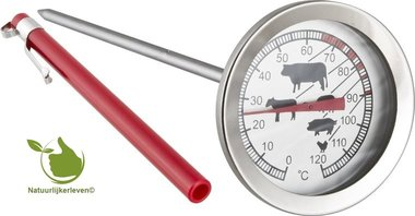 Thermometer for barbecue 0 ° C + 120 ° C