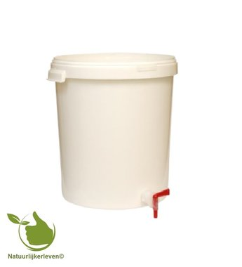 Fermentation Container 30L with cover and drain tap