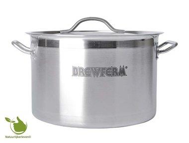 Brewferm homebrew kettle SST 25 l (36 x 24 cm)