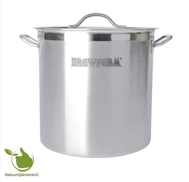 Brewferm homebrew kettle SST 35 l (36 x 36 cm)