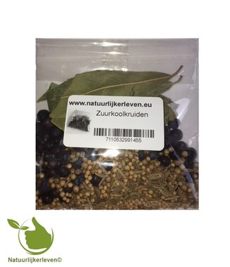 Sauerkraut herbs