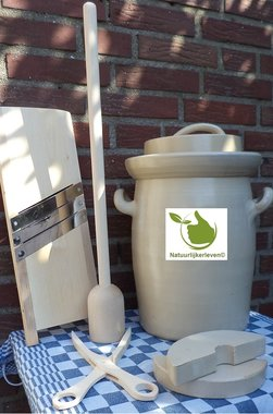 Sauerkraut starter kit 10 liter (Grey-Classic)