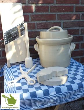 Sauerkraut starter kit 3 liter (Grey-Classic)