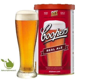 Coopers beer Real Ale