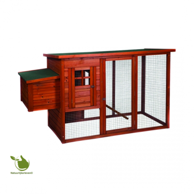 Woodland poultry coop hennie classic 183x78x104CM