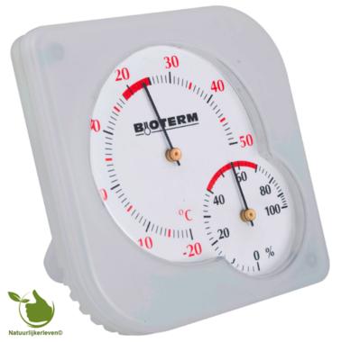 Bimetal thermometer and hygrometer