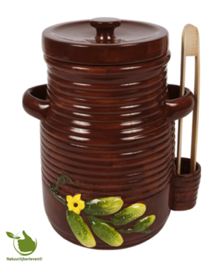Pickle jar 3 liter (brown)