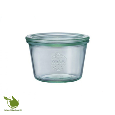 Weck STORAGE glass with lid (370ml) 1 / 4L
