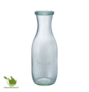 Juice bottle WECK 1/1 liter.