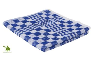 Kitchen towel / Towel block 50x50cm blue 3 pieces