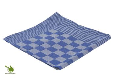 Tea towel block 65x65cm blue 6 pieces