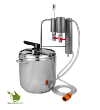 12L stainless steel distiller - 2 columns