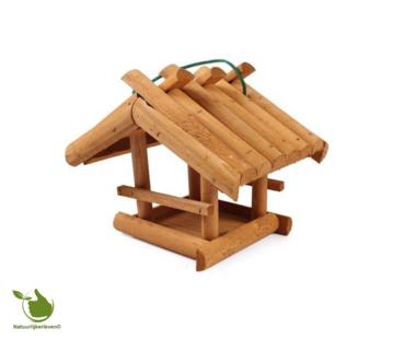 Feeder for garden birds - wood, 24x20x21 cm