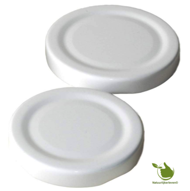 twist-off lid 43 mm white 10 pcs